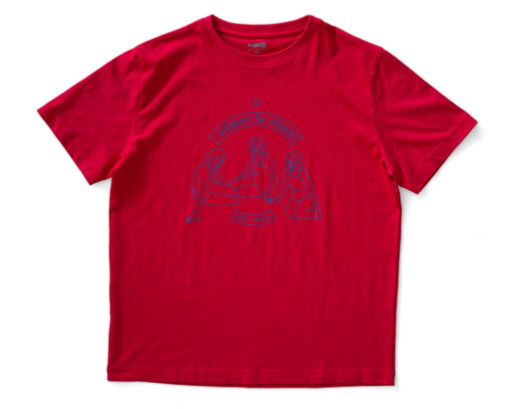 VIS crvena unisex majica