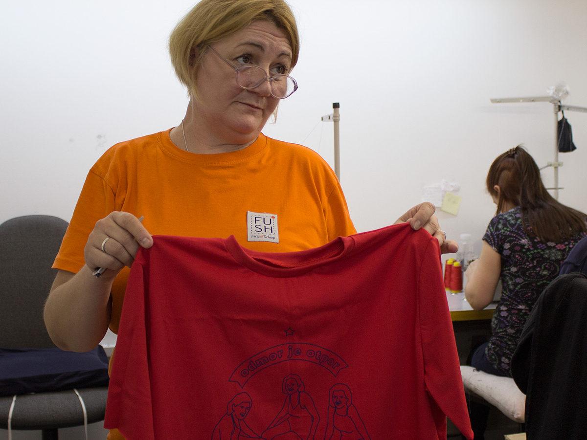 Manonija majice proces proizvodnje