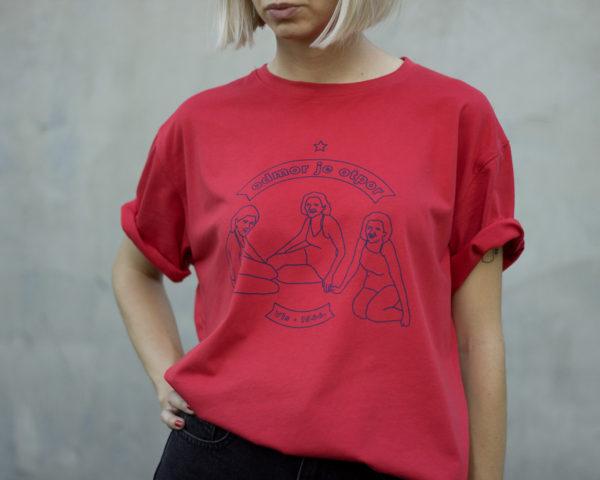 Crvena VIS majica