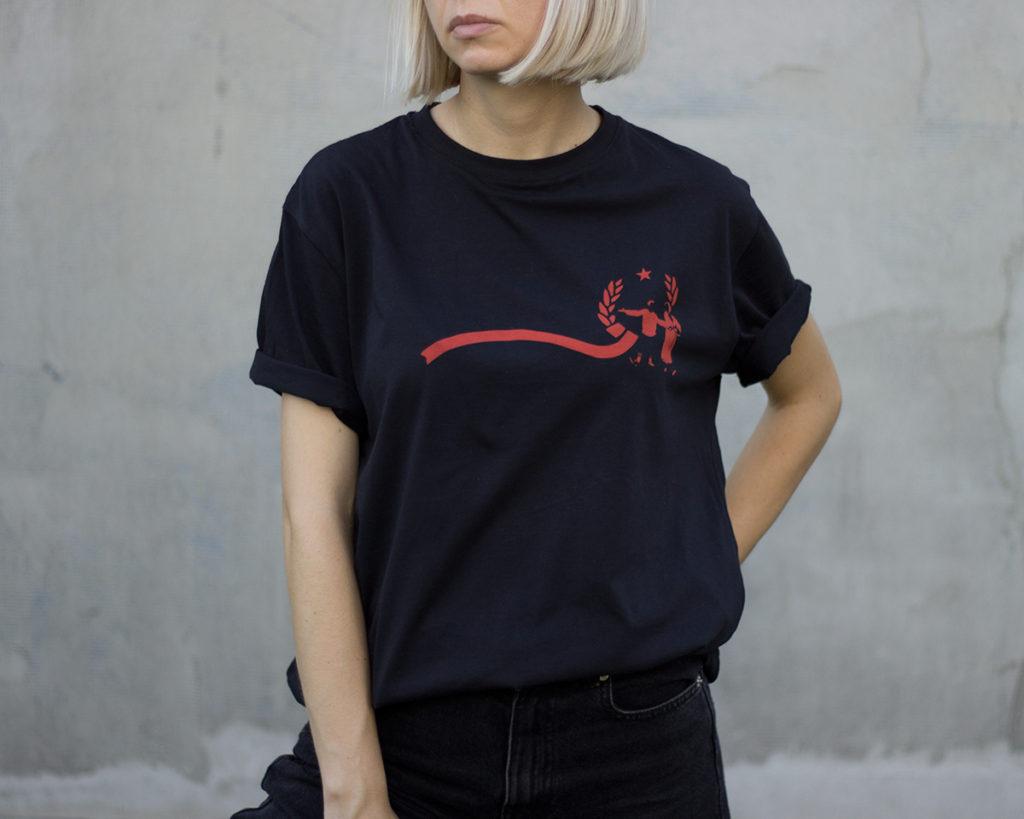 Crna Jajce majica