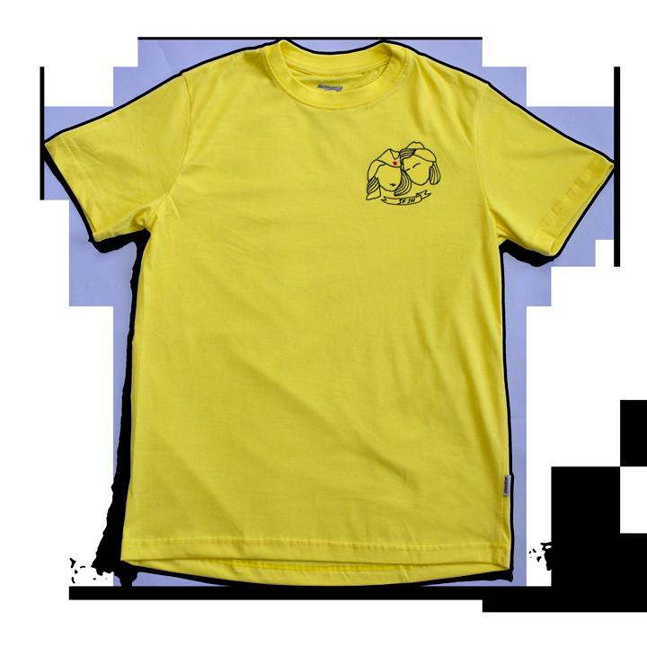 SF-SN unisex žuta majica